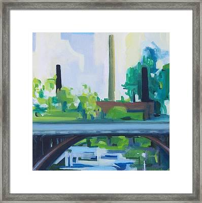 Marcal Rt. 46 Bridge Framed Print by Ron Erickson