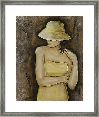 Marcella Framed Print by Patricia Panopoulos