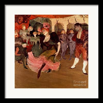 Toulouse-lautrec Framed Prints