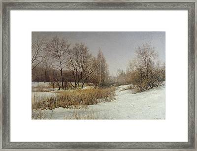 March Framed Print by Andrey Soldatenko