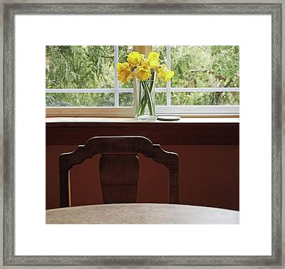 Framed Print featuring the photograph March by Laurie Stewart