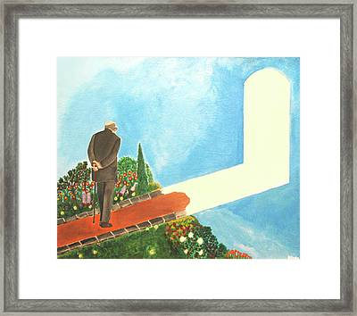 March Of Age Framed Print