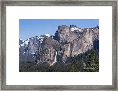 March Rainbow Framed Print