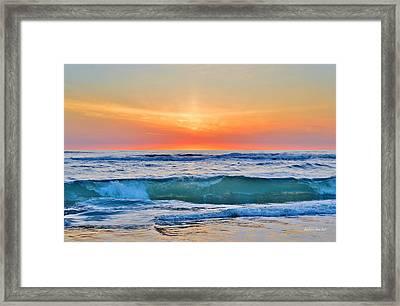 March Sunrise 3/6/17 Framed Print