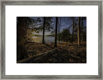 March Sunrise At Millsite Lake Framed Print by Everet Regal