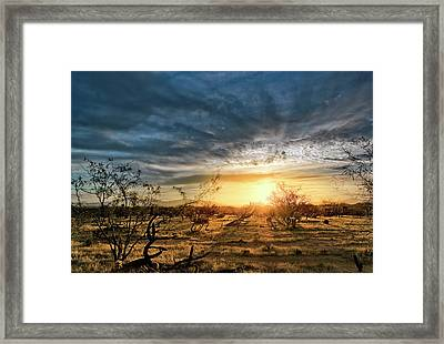 March Sunrise Framed Print