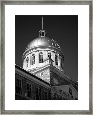 Marche Bonsecours  Framed Print by Juergen Weiss