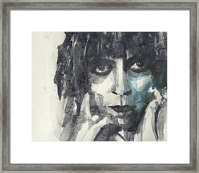 Framed Print featuring the painting Marchesa Casati  by Paul Lovering
