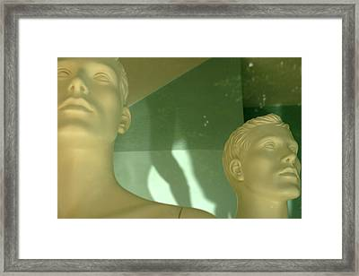 Marching Away Framed Print by Jez C Self