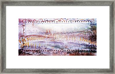 Marching In The Meadow Framed Print by Tom Hefko