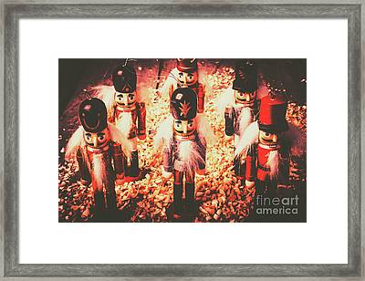 Marching In Tradition Framed Print