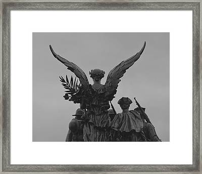 Marching Onward Framed Print by Patricia Strand