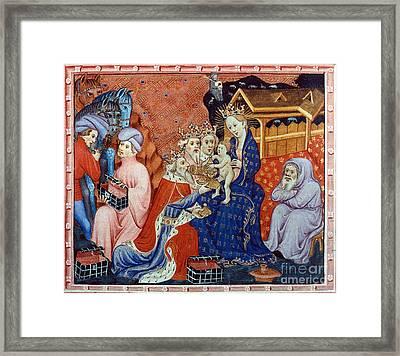 Marco Polo (1254-1324) Framed Print by Granger