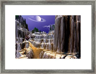 Marco Polo Trail 2 Framed Print