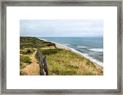 Marconi Beach Framed Print