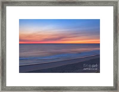 Marconi Beach Sunrise Framed Print