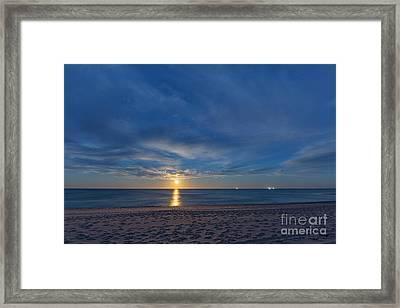Marconi Moonrise Framed Print