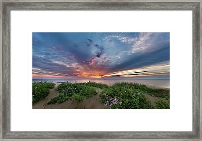 Marconi Station Sunrise Framed Print