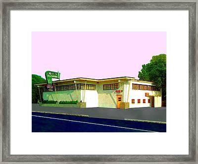 Marconi's Restaurant Framed Print