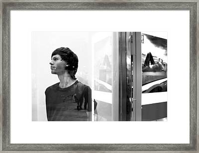 Marcus 2 Framed Print by Jez C Self