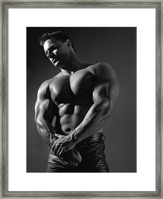 Marcus 2 Framed Print by Thomas Mitchell