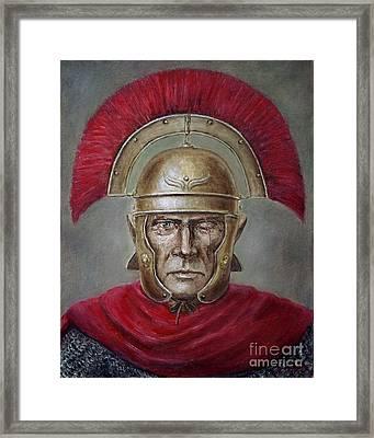 Marcus Cassius Scaeva Framed Print