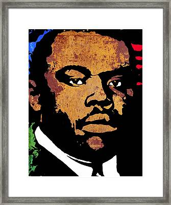 Marcus Garvey 2 Framed Print by Otis Porritt