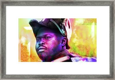 Marcus Garvey Framed Print