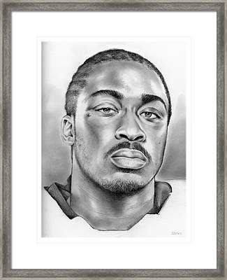 Marcus Lattimore Framed Print by Greg Joens