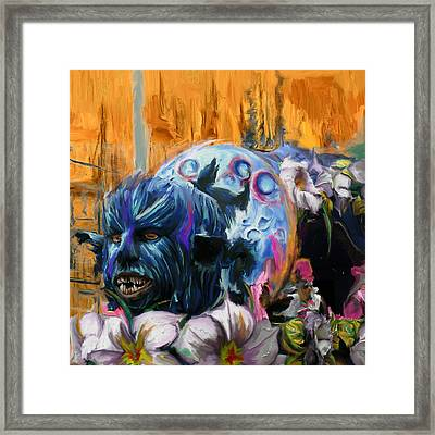 Mardi Gras 236 2 Framed Print by Mawra Tahreem