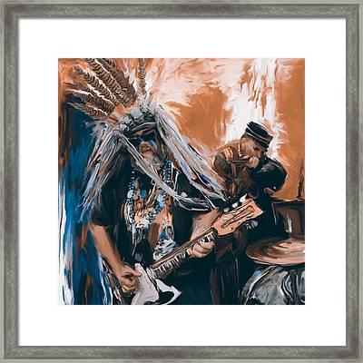 Mardi Gras 241 3 Framed Print by Mawra Tahreem