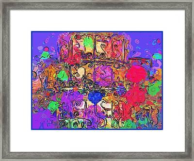 Mardi Gras Framed Print by Alec Drake