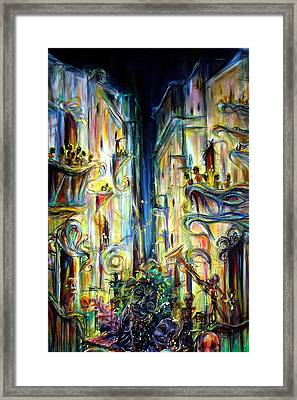 Mardi Gras Framed Print by Heather Calderon