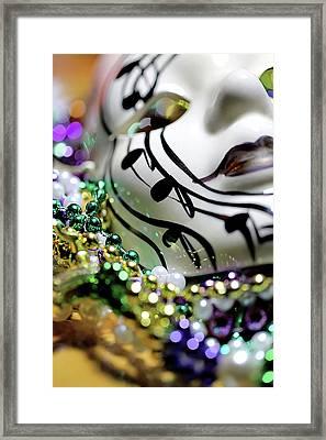 Mardi Gras I Framed Print by Trish Mistric