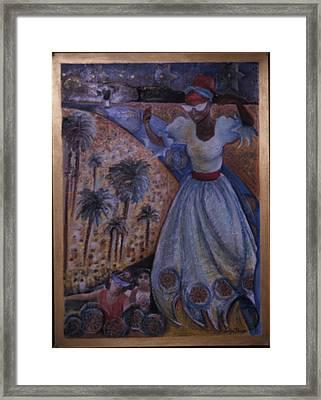 Mardi Gras Megillah Framed Print by Barbara Nesin