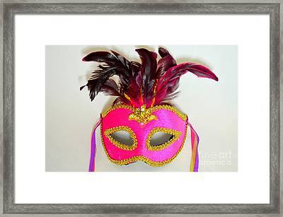 Mardi Gras No 2 Framed Print by Mary Deal