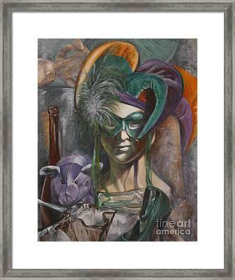 Mardi Gras Framed Print by Pam Raney