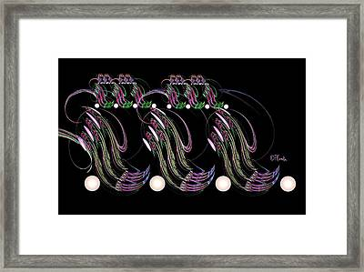 Mardi Gras Framed Print