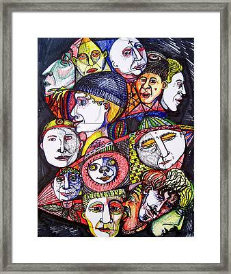 Mardi Gras Framed Print by Stephen Hawks