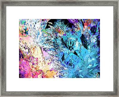 mardiGras Framed Print by Harry Hunsberger