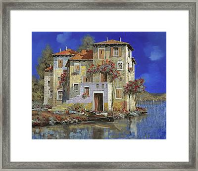 Mareblu' Framed Print by Guido Borelli
