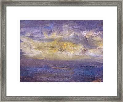 Maremoto Framed Print by Jorge Delara