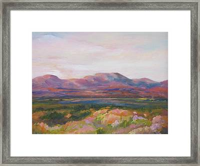 Marfa Skies /sold Framed Print