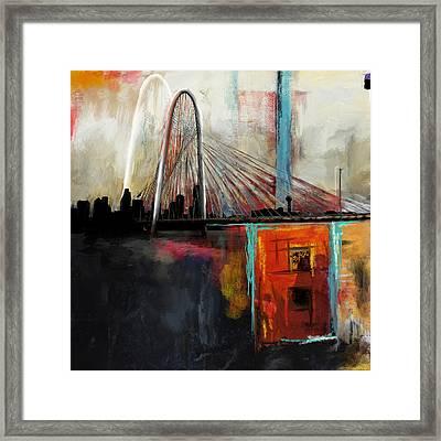 Margaret Hunt Hill Bridge Framed Print by Mawra Tahreem
