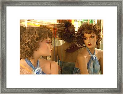 Margaret Framed Print by Jez C Self