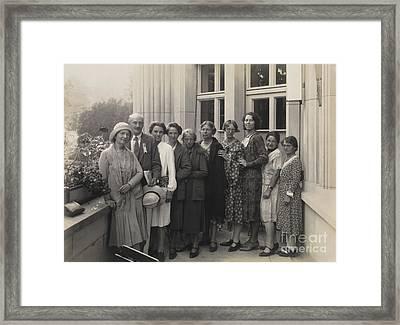 Margaret Sanger, Birth Control Framed Print by Wellcome Images