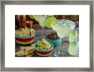 Margarita Party Framed Print