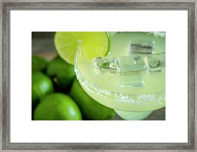Framed Print featuring the photograph Margaritas Anyone by Teri Virbickis