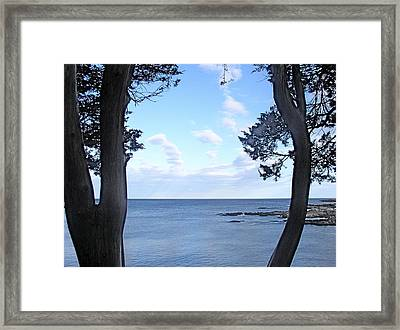 Marginal Way Framed Print by Ursula Wright
