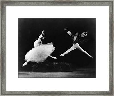 Margot Fonteyn 1919-1991, And Alexis Framed Print by Everett